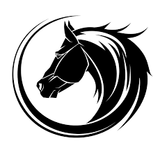 tribal horse head silhouette. Simple Silhouette Silhouette Horse Head Tattoo Stencil And Tribal O
