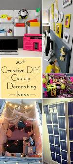 Tremendous 20 Creative Diy Cubicle Decorating Ideas Hative Home  Decorationing Ideas Aceitepimientacom