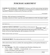 purchase agreement sample 100 stock purchase agreement template 5 loan agreement