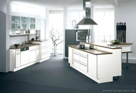 contemporary white kitchen cabinets koffieathome