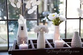 Spring decoration window sill 14