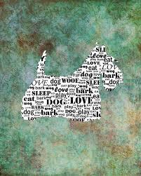 personalized scottish terrier scottie dog silhouette scottie word art 8 x 10 print scottie dog pet gifts