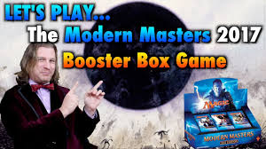 mtg let s play the modern masters 2017 booster box game for magic the gathering