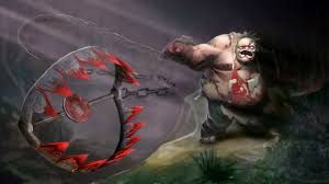 download wallpaper 1920x1080 pudge dota 2 art full hd 1080p hd