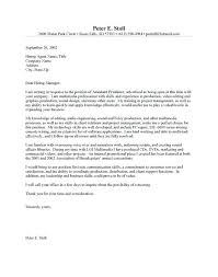 Sample Film Cover Letter Video Producer Cover Letter