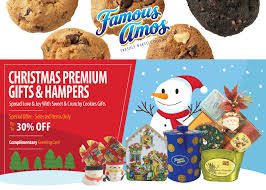 famous amos premium gift her promotion food beverages cake cookies in msia