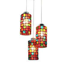 multi glass pendant lights multi coloured glass pendant lights