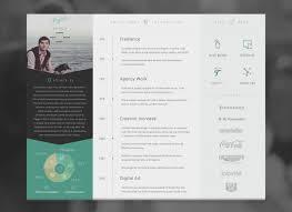Resume Designs Amazing 48 Inspiring Resume Designs To Get You Hired Good Resume Design