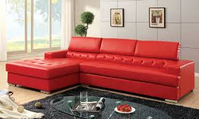 18 stylish modern red sectional sofas for wonderful red leather tufted sofa