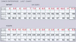 Kid Shoes Size Chart Uk Kids