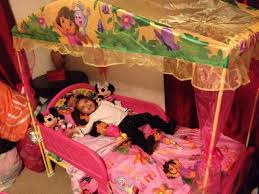 Frozen Toddler Bed with Canopy for Girls — Ccrcroselawn Design ...
