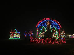 Hersheypark Christmas Candylane Sweet Lights The Roarbots