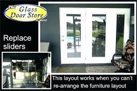 patio door glass replacement cost s
