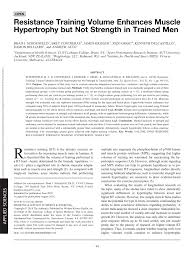 pdf diffeial effects of heavy versus moderate loads on meres of strength and hypertrophy in resistance trained men