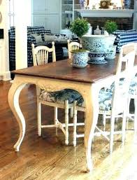 country kitchen dining table french set round mats fre