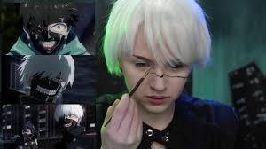 tokyo ghoul makeup tutorial