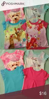 Garanimals T Shirt Bundle Four T Shirts Size 2t Polyester