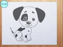 Small Picture How to draw puppy step by step Drawings ideas for kids