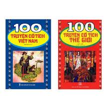 Sách - Combo 100 Truyện cổ tích Việt Nam + 100 Truyện cổ tích Thế Giới