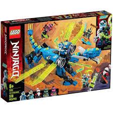 Купить <b>конструктор LEGO Ninjago Кибердракон</b> Джея 71711 в ...