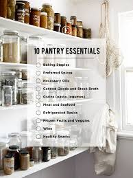 10 Must Have Ingredients for a Stocked Pantry The Everygirl, must ...