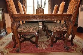 ebay dining room sets waffeparishpressco windham carved traditional formal dining room set cherry table entertaining ebay