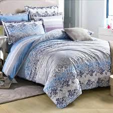 blue and gray comforter gray blue comforter set blue gray comforter set striped and fl clearance
