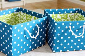 Decorative Fabric Storage Boxes DIY Decorating Ideas Thrifty Thursday 100 87