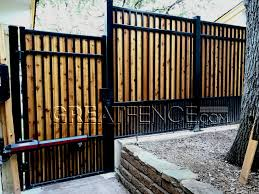 aluminum privacy fence. Add Your Own Wood Planks To Our Aluminum Fencing For 100% Privacy! Privacy Fence