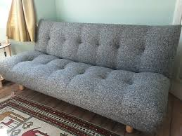 new habitat kota 3 seater fabric sofa