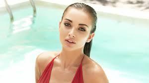 Wallpaper Amy Jackson Swimsuit Bollywood Actress 4k Hd