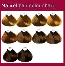 L Oreal Professionnel Colour Chart Blonde Majirel Hair Colour Chart
