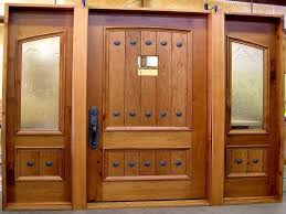 image of solid wood exterior doors design