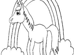 unicorn coloring page for kids unicorn coloring page free printable also free printable unicorn coloring pages