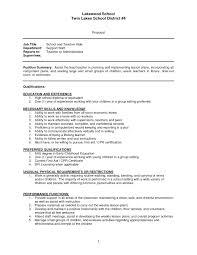 Teacher Sample Resume Entry Level After 1 For English Teachers Japan