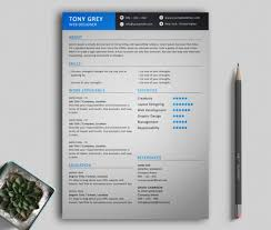 Freebie – Simple Resume Template With Cover Letter – Mixed Sign