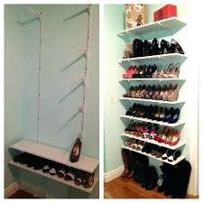 diy shoe rack ideas shoe storage ideas building a shoe closet best shoe shelves ideas on