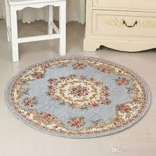 2019 120x120cm bath mat large bathroom rugs retro flower garden anti slip mat bathroom rug set rug mat carpet the bathroom alfombra floor carpet from