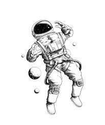 Bw Tattoo On Behance надо попробовать Tatuaje De Astronauta