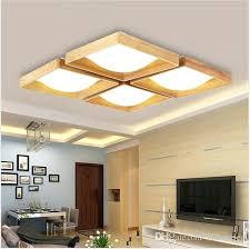 lighting ceiling mount wood led ceiling lights square light ceiling flush mount ceiling lights oak indoor lighting ceiling mount