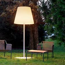 image of large outdoor table lamp