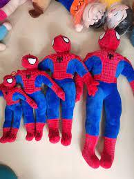 Gấu Bông Siêu Nhân Người Nhện Spiderman - Shop Gấu Bông Ly Ly