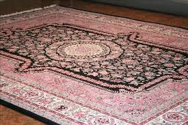 pink and white area rug rugs with idea black