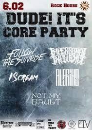 DUDE! IT'S <b>CORE</b> PARTY | 6 февраля | Москва | ВКонтакте