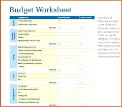 Simple Monthly Budget Template 1 Pdf Sheet – trufflr