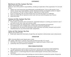 Professional Accomplishments Resume Examples How To Write