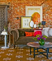 Living Room Furniture Kansas City Pillow Decor Ideas Living Room Eclectic With Layered Art Floral