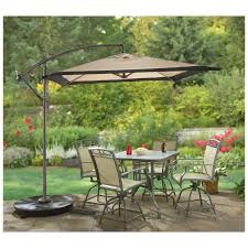 furniture patio dining sets on plastic outdoor table with umbrella hole surprising for round square