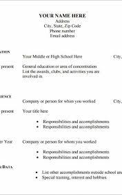 Resume Template Pdf Download Amazing Free Resume Template Download Pdf New Free R Resume Template