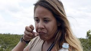 A tourist eats peyote in the desert near Real de 14, in San Luis Potosi. Topics: Gisele Beker ♦ Mexican friends ♦ peyote - photo_1375285786353-1-0